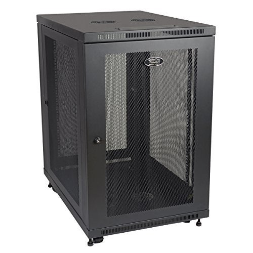 Tripp Lite Case Sr18ub 18U Smartrack Extra Depth Rack Enclosure Cabinet Retail