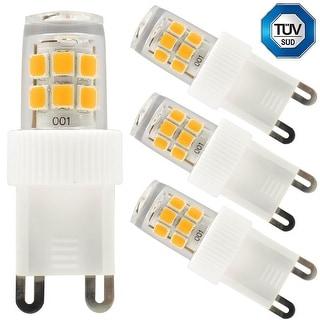 3-Pack 110V 2.5W G9 LED Bulb, 30W Equivalent 2700K Warm White LED G9 Light Bulb