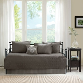 Link to Madison Park Mansfield 6 Piece Reversible Daybed Cover Set Similar Items in Daybed Covers & Sets