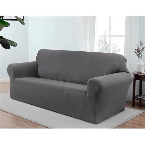 Madison Kathy Ireland Santa Barbara Sofa Slipcover Grey