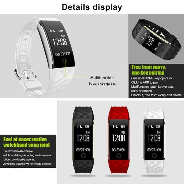 Shop Image IP67 Waterproof Touch Screen Fitness Tracker
