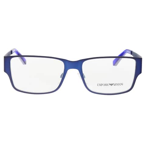Emporio Armani EA1022 3050 Matte Blue Square Optical Frames - 53-16-140