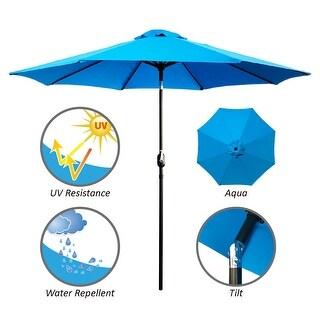 Maypex 9-foot Crank and Tilt Market Umbrella