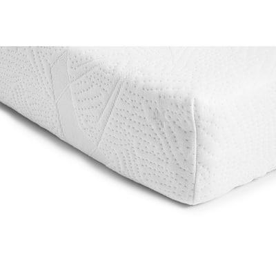 Bundle of Dreams Organic White Cotton Fitted Mini Mattress Cover