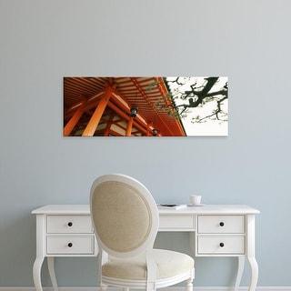 Easy Art Prints Panoramic Image 'Heian Jingu Shrine, Kyoto Prefecture, Kinki Region, Honshu, Japan' Canvas Art