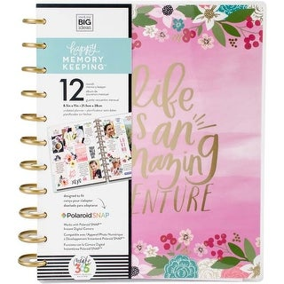 Life Is An Amazing Adventure - Create 365 Happy Memory Keeping Big Planner