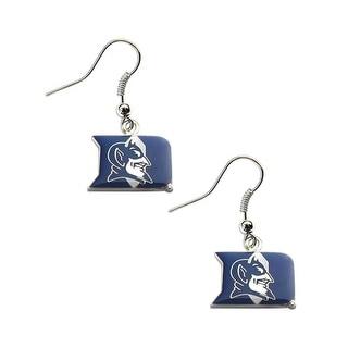 Duke Blue Devils Dangle Logo Earring Set NCAA Charm Gift
