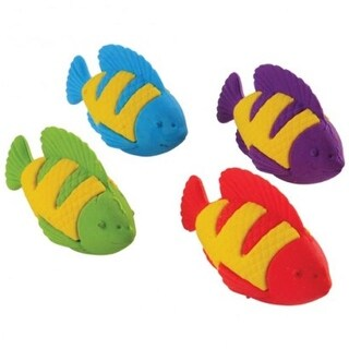 Tropical Fish Erasers - 12 Per Pack - Pack of 17
