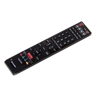 OEM Sharp Remote Control Originally Shipped With LC60SQ15U & LC-60SQ15U