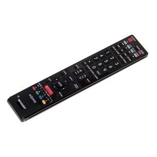 OEM Sharp Remote Control Originally Shipped With LC60SQ17U & LC-60SQ17U