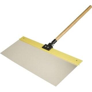 """Hyde Tools 28010 Flex Aluminum Shield, 24"""" x 9"""" With Handle"""