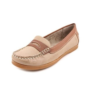 Naturalizer Hogue Women N/S Round Toe Leather Loafer