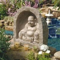 Design Toscano The Great Buddha Garden Sanctuary Sculpture