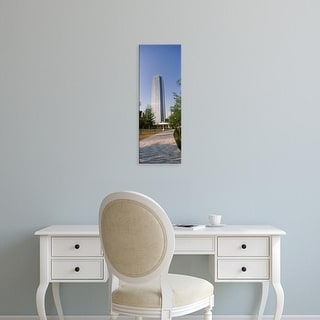 Easy Art Prints Panoramic Images's 'Devon Tower in the downtown, Oklahoma City, Oklahoma, USA' Premium Canvas Art