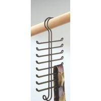 Inter-Design Hanger Closet Tie/Belt Rack 6561