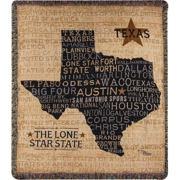 Shop 40 Khahi And Black Texas Lone Star State Throw Blanket With Interesting Spurs Throw Blanket