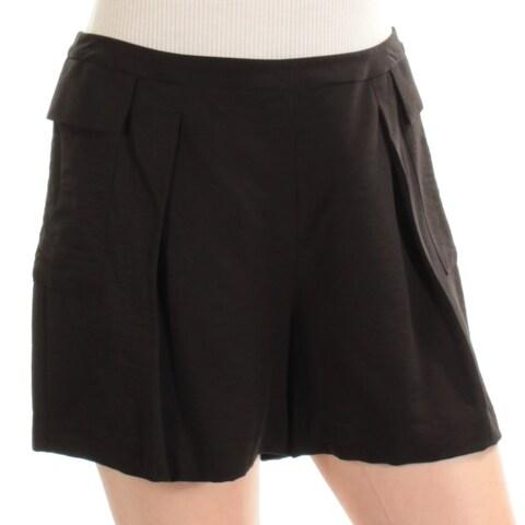 VINCE CAMUTO Womens Black Straight leg Short Size: 10