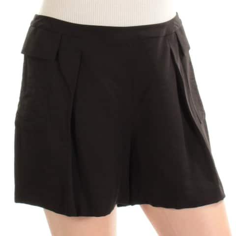 VINCE CAMUTO Womens Black Short Size: 0