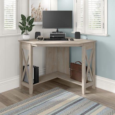 Key West Small Corner Desk by Bush Furniture