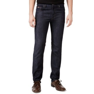 Hugo Boss NEW Blue Mens Size 33X30 Classic Straight Leg Seamed Jeans