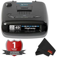 Escort X80 OLED Display Long Range Laser/Radar Detector w/Escort live app with 2 Year Warranty