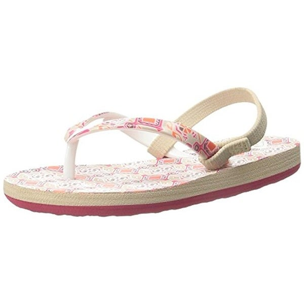 Roxy Girls TW Pebbles Sandals Printed