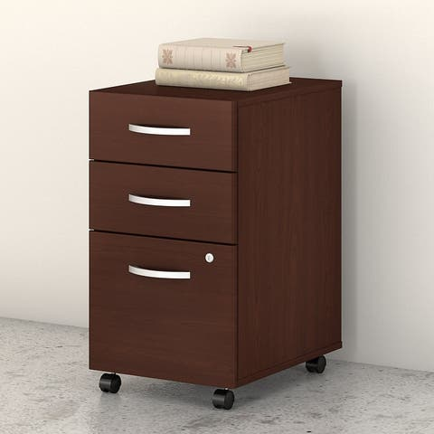 Studio C 3 Drawer Mobile File Cabinet by Bush Business Furniture