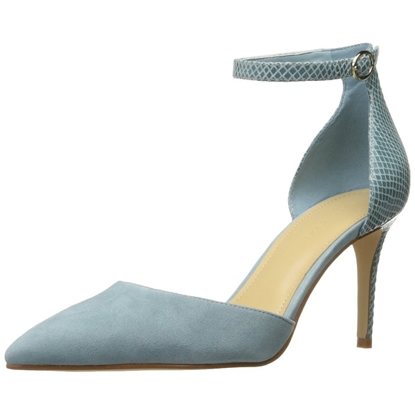 Marc Fisher Womens daiana Leather Pointed Toe Ankle Strap D-orsay Pumps