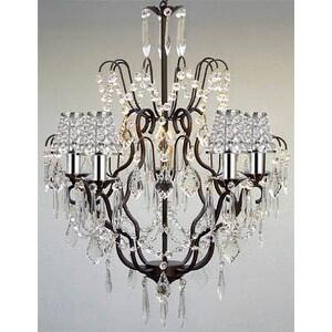 Versailles Wrought Iron Chandelier Lighting Empress Crystal Chandelier Lighting With Crystals