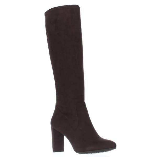 Nine West Kellan Knee-High Boots, Dark Brown