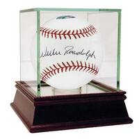 Willie Randolph MLB Baseball with Lets Go Mets Insc - AM Signed In