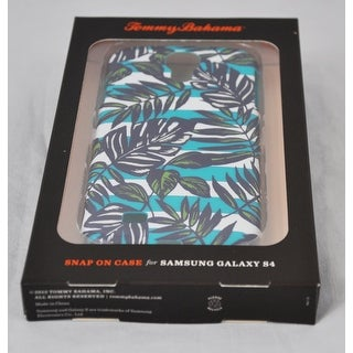 Tommy Bahama Leaves & Stripes Snap on Phone Case for Samsung Galaxy S4