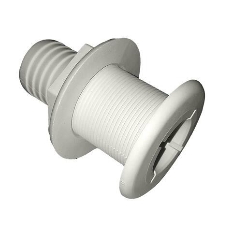 Johnson pump thru-hulls 1 1/2 white
