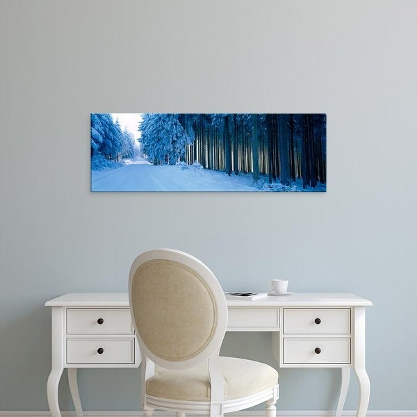 Easy Art Prints Panoramic Images's 'Hochwald Region Rhineland Pfalz Germany' Premium Canvas Art