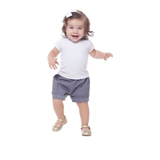 Baby Girl Shirt Short Sleeve Classic Tee Newborn Clothes Pulla Bulla 3-12 Months