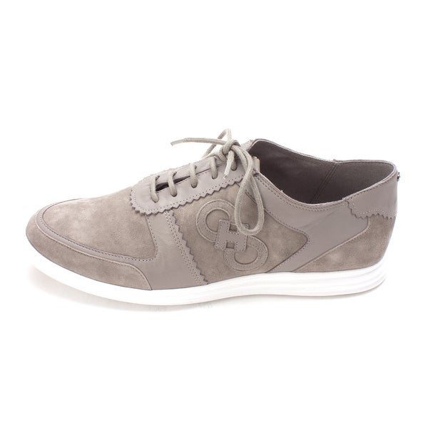 Cole Haan Womens Nettisam Suede Low Top Fashion Sneakers - 6