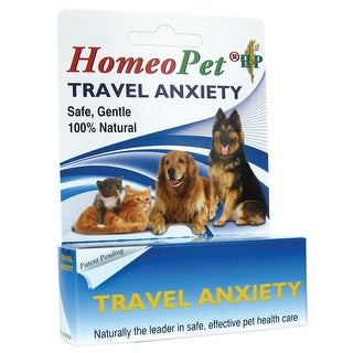 HomeoPet Travel Anxiety bottle 15ml