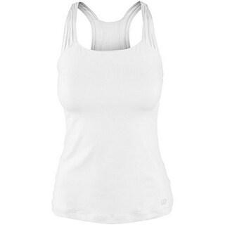 Wilson Womens Core Classic Tank, White, S