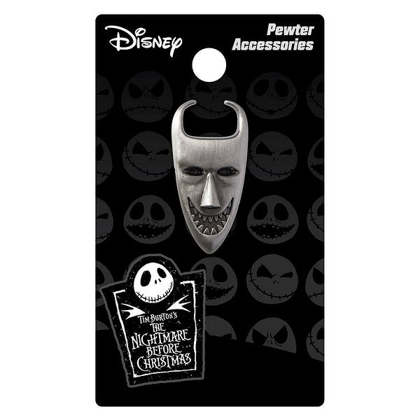 Nightmare Before Christmas Pewter Lapel Pin Lock Mask