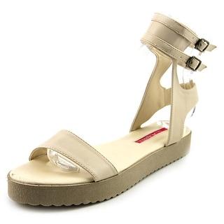 C Label GILDA-4 Open Toe Leather Gladiator Sandal