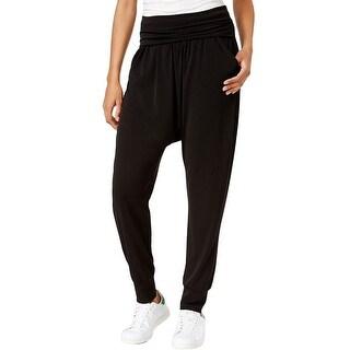 RACHEL Rachel Roy Fold Over Flat Front Harem Pants - XL