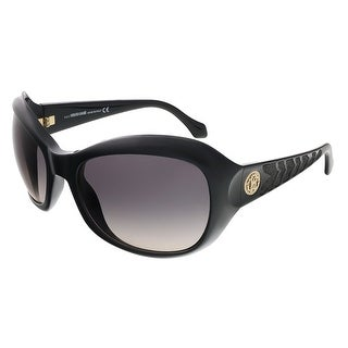 Roberto Cavalli RC794S/S 01B Shiny Black Butterfly sunglasses - Shiny Black - 62-21-125
