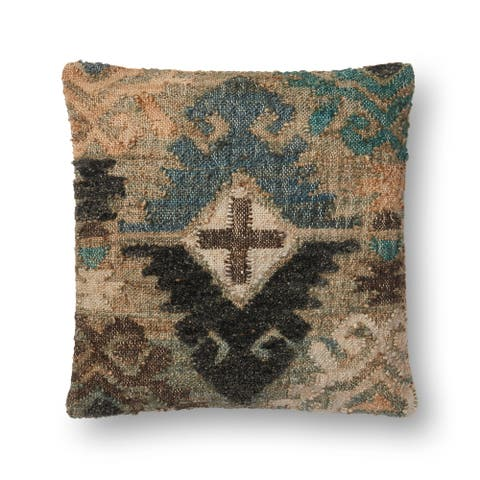 Alexander Home Vernon Boho Diamond Throw Pillow