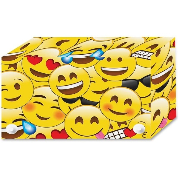 Shop 4 X 6 In Emoji Design Index Card Holder Large Multicolor