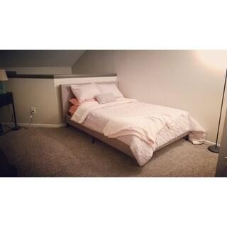 Anya Fabric Full-size Platform Bed
