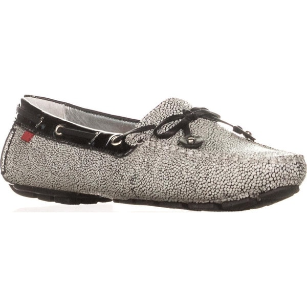 Marc Joseph Cypress Hill Driving Moccasins , Black and White