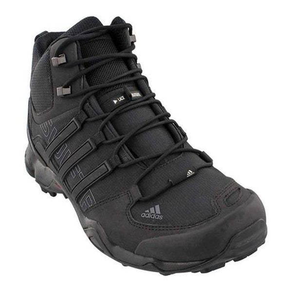 95c09bcb74da5 Shop adidas Men s Terrex Swift R Mid Hiking Boot Black Black Dark ...