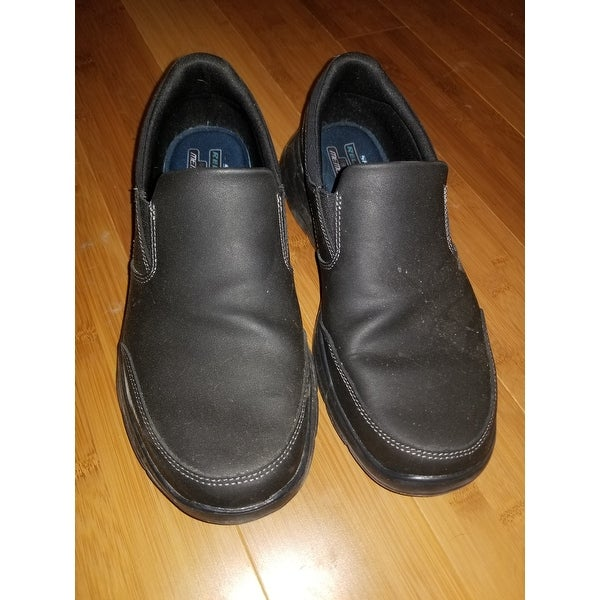 eb6393ead4f6 Shop Skechers Men s Relaxed Fit Glides Calculous Slip On Black - On Sale -  Free Shipping Today - Overstock - 10541034