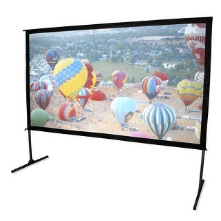 "Elite Screens OMS100H2-DUAL Yard Master 2 Dual Series WraithVeil 100"" Outdoor Projector Screen"