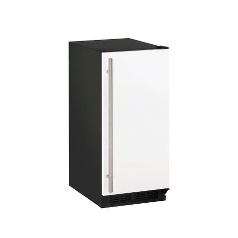 CLR1215 Clear Ice Maker 15 in White with Pump - 1000 - Reversible